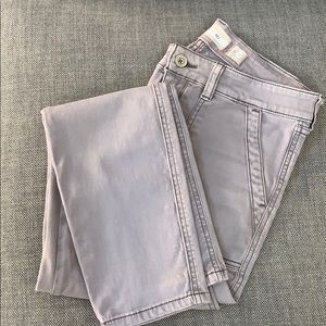 Long cotton pants by Anthropologie